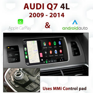 Audi Q7 4L 2009 - 14 Apple CarPlay & Android Auto Integration