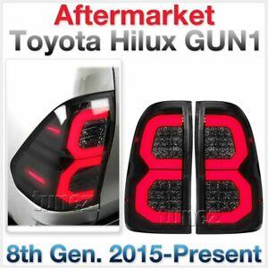 NEW 2021 Smoke LED Tail Light Rear Lamp For Toyota Hilux 2015-2020 SR SR5 Tunez