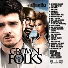 DJ ANT LO GROWN FOLKS SOUL & R&B CLASSICS MIX CD VOL 6
