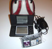 Nintendo DS Lite Crimson Red - Bag - Charger and 22 Games - Great condition