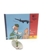 En Avion Tintin le triporteur gris du sceptre d'ottokar  N48 + livret