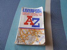 A-Z Street Atlas Liverpool 1998