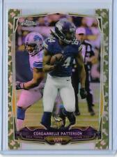 RARE 2014 TOPPS CHROME CORDARRELLE PATTERSON CARD #84 ~ 001/499 UNIQUE FIRST ONE