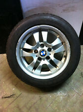 """16"""" x4 GENUINE USED BMW ALLOY WHEELS & TYRES FITS 3 SERIES E90"""