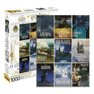 Harry Potter Travel Posters 1000 Piece Puzzle from Aquarius