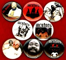 "The Mentors 8 NEW 1"" buttons pins badges el duce punk gg allin STOCKING STUFFER"