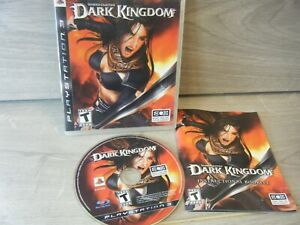 UNTOLD LEGENDS DARKKINGDOM PLAYSTATION 3 GAME WITH MANUAL CLEAN DISC