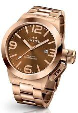 TW Acero CB192 Reloj para Hombre Marrón 50 mm Cantina - 2 Años De Garantía