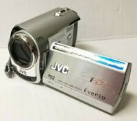 JVC Everio Hybrid Camcorder 35x Optical Zoom Silver - GZ-MG330