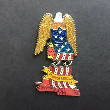 DLR - DCA Electrical Parade Eagle Float with Dangle LE 2400 Disney Pin 8311