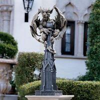 Raptor Gargoyle Surveyor Of The Realm Design Toscano Exclusive Sculpture