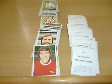 FKS SOCCER STARS 1974/75 individual stickers lots available....2 for £1