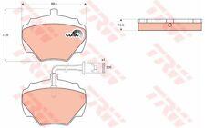 TRW Juego de pastillas freno Trasero LAND ROVER DISCOVERY RANGE DEFENDER GDB976