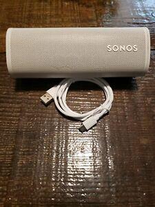 Sonos Roam Portable Bluetooth Speaker (Lunar White)