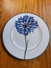 Villeroy & Boch Flora Dinner Plate Blue Flower Approx. 10.5 inches