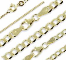 Kette Gelbgold 333 Gold 38-60 cm Halskette Goldkette Damen Herren ECHT & NEU ✅