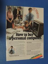 Original Vintage 1979 Apple Computer magazine ad How to  Buy a Personal Computer