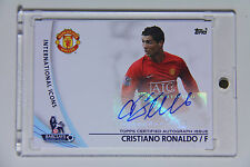 2013 Topps Premier GOLD League Cristiano Ronaldo International Icons Autograph