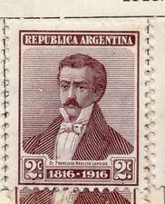 Argentine Republic 1916 Early Issue Fine Mint Hinged 2c. 183018
