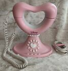 Disney Princess Pink Corded Push Button Landline Phone