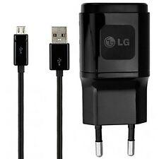 NEW  LG ORIGINAL MCS-04ER + Micro USB Data Cable 2 Pin Europe Charger