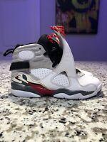 Nike Air Jordan 8's Bugs Bunny Size 4 Heat 305368-103 Off White YEEZY Og Whites