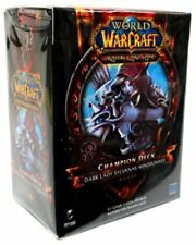 New Sealed World of Warcraft Dark Lady Sylvanas Windrunner Champion Deck WoW TC