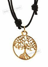 Lucky charm Tree of life Friendship Pendant unisex Necklace spiritual karma gift