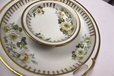 M V Co GERMANY 2 Handled Raised Center Snack Veggies Chips & Dip Serving Dish