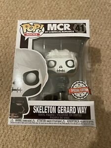 Funko Pop My Chemical Romance Black Parade Skeleton Gerard Way 41