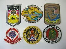 VINTAGE DESERT STORM MILITARY PATCH LOT 6 PIECES NICE LOOK!!!