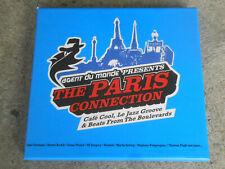 AGENT DU MONDE-THE PARIS CONNECTION-CAFE COOL-LE JAZZ GROOVE-2 CD BOX-BOOKLET-LM