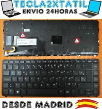 Teclado Español para portatil Hp Elitebook 840 G1 850 G1 retroiluminado negro