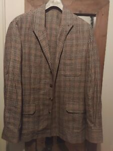 Justo Gimeno Wool Linen Teba Size 38. The Armoury