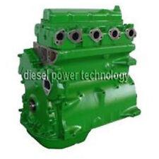 John Deere 4045T Remanufactured Diesel Engine Long Block or 3/4 Engine