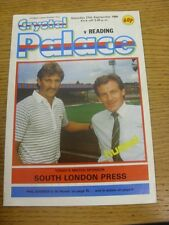 27/09/1986 Crystal Palace v Reading  (Press Clippings Inside). Thanks for viewin