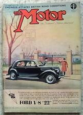 The MOTOR Magazine 11 Jan 1938 Mercedes Benz 2.3 L Saloon MCC EXETER TRIAL