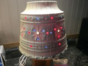 Lamp shade Handmade Beads /Flowers