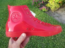 Converse CTAS HI TOPS  153229C Casino Red Patent Leather Men's Size 11.5 NEW