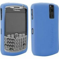BLUE SILICONE CASE SKIN COVER for Blackberry 8300 8310 8320 8330 tm094