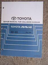 2000 Toyota RAV4  ACA2 ZCA2 Series Collision Damage Auto  Repair Manual   R