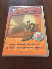 DETECTIVE CONAN DVD 3 - 1 DVD - 2 CAPS - 50 MIN - JONU MEDIA PLANETA DEAGOSTINI