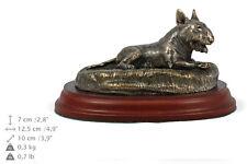 Bull Terrier gésir joyeux, statue de chien, édition limitée Art Dog FR