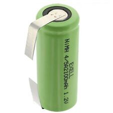 1.2V 4/5A  Rechargeable Battery w/ Tabs For LED Lights, Tools, Meters