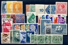 NIEDERLANDE 1923-1942 * GUTE WERTE auch ROLELNZÄHNUNG etc ca 600€(S0799