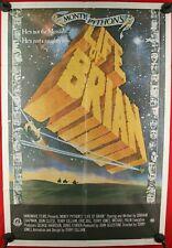 """Rare Original 1979 cult comedy """" Life Of Brian"""" 1 sheet poster Monty Python"""
