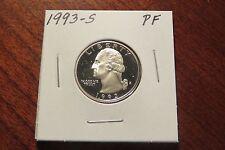 1993-S (Proof) Washington Quarter