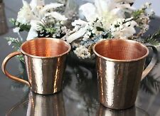 Sertodo Solid Copper Moscow Mule Mug, 12 Fluid Ounce, Hammered Copper