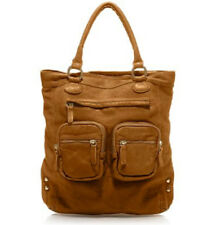 NWT J.Crew Jericho Distressed Leather Bag Tote in Saddle