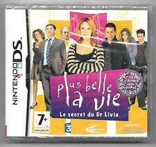 Plus belle la vie le secret du Dr livia Neuf sous blister Jeu Nintendo DS